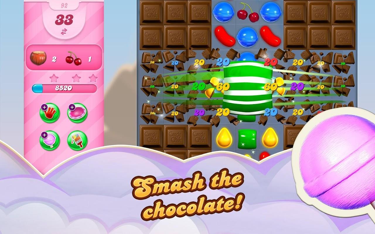 Android Candy Crush Saga Screen 12