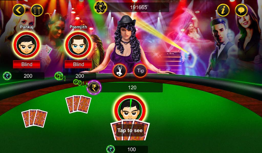 Android Teen Patti Screen 1