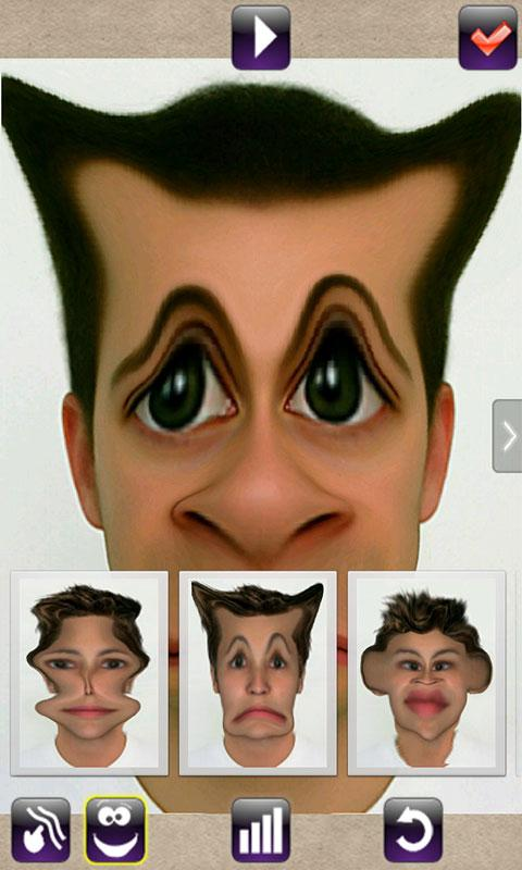 Android Face Animator - Photo Deformer Pro Screen 3