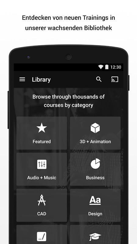 Android Lynda - Online Training Videos Screen 2