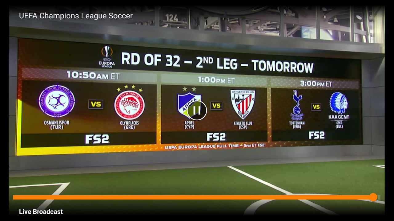 fuboTV - Live Sports and TV 2.2.5-androidtv Screen 1