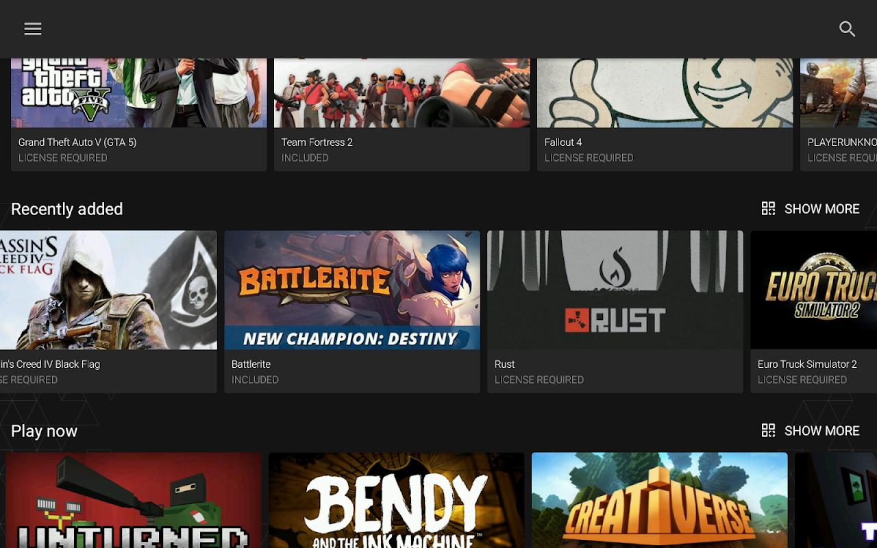 Vortex Cloud Gaming 1.0.226 Screen 7