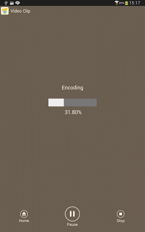 Android SlideFX Video Creator Screen 17