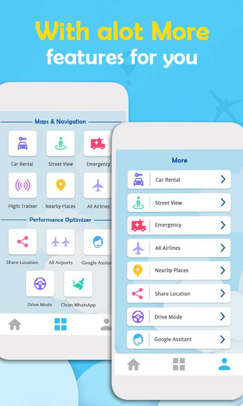 Android Flight Radar Plane Finder - Air Traffic Screen 2