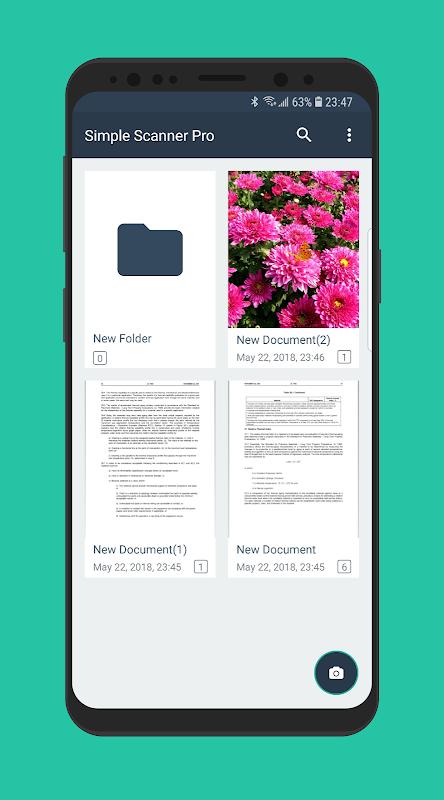 Simple Scan Pro - PDF scanner 3.1 Screen 2
