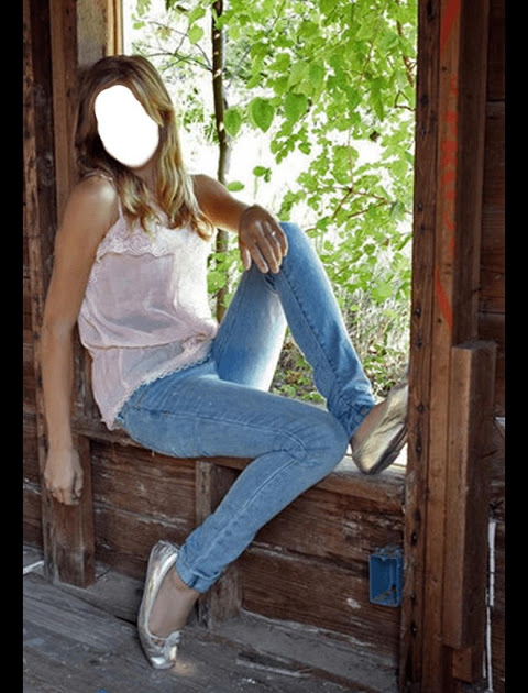 Girls Blue Jeans Selfie 1.5 Screen 7