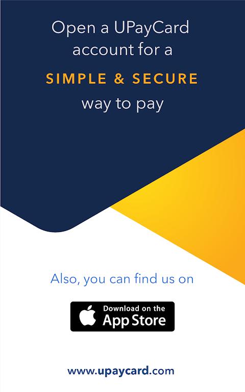 UPayCard 2.1 Screen 5