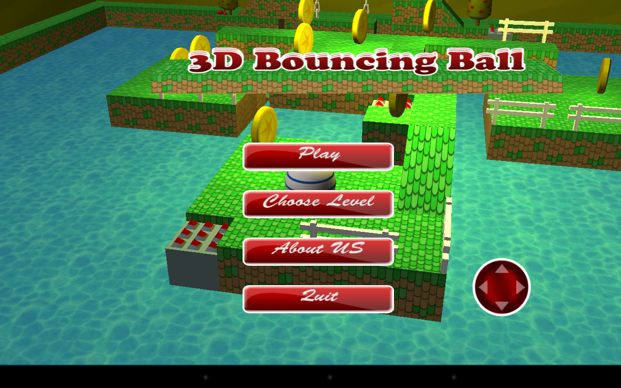 Android 3D Bouncing Ball Free Screen 7