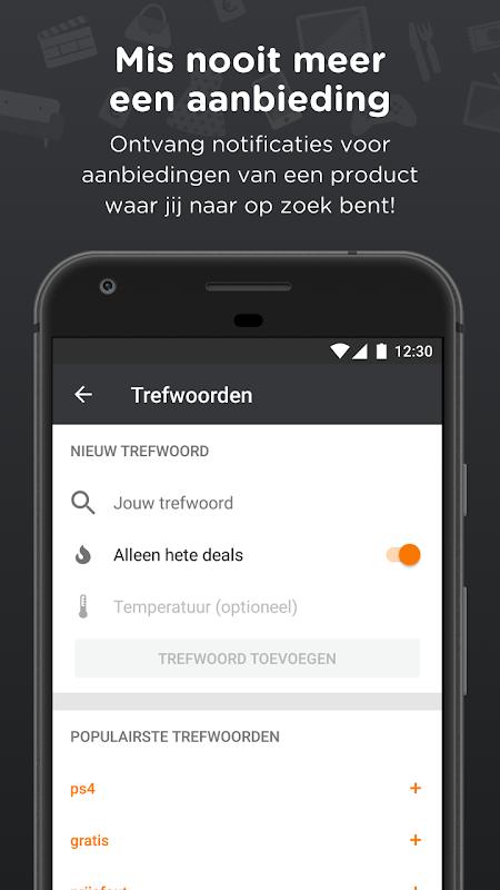 Android Pepper.com: De heetste deals Screen 3