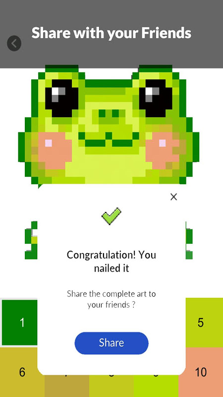 Android Pet Pixel Paint - Color by Numbers Screen 4