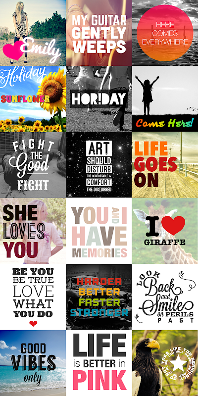 Android Phonto - Text on Photos Screen 3