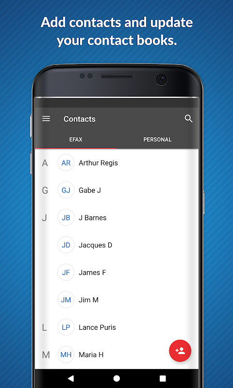 Android eFax – Send Fax From Phone Screen 3