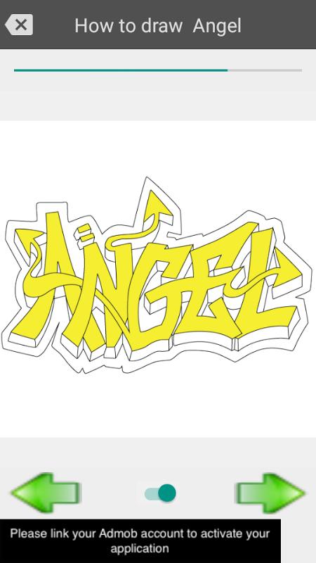 Android Draw graffiti 3D Screen 2