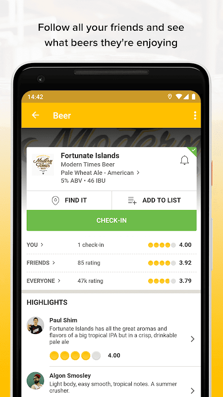 Untappd - Discover Beer 3.3.7 Screen 4