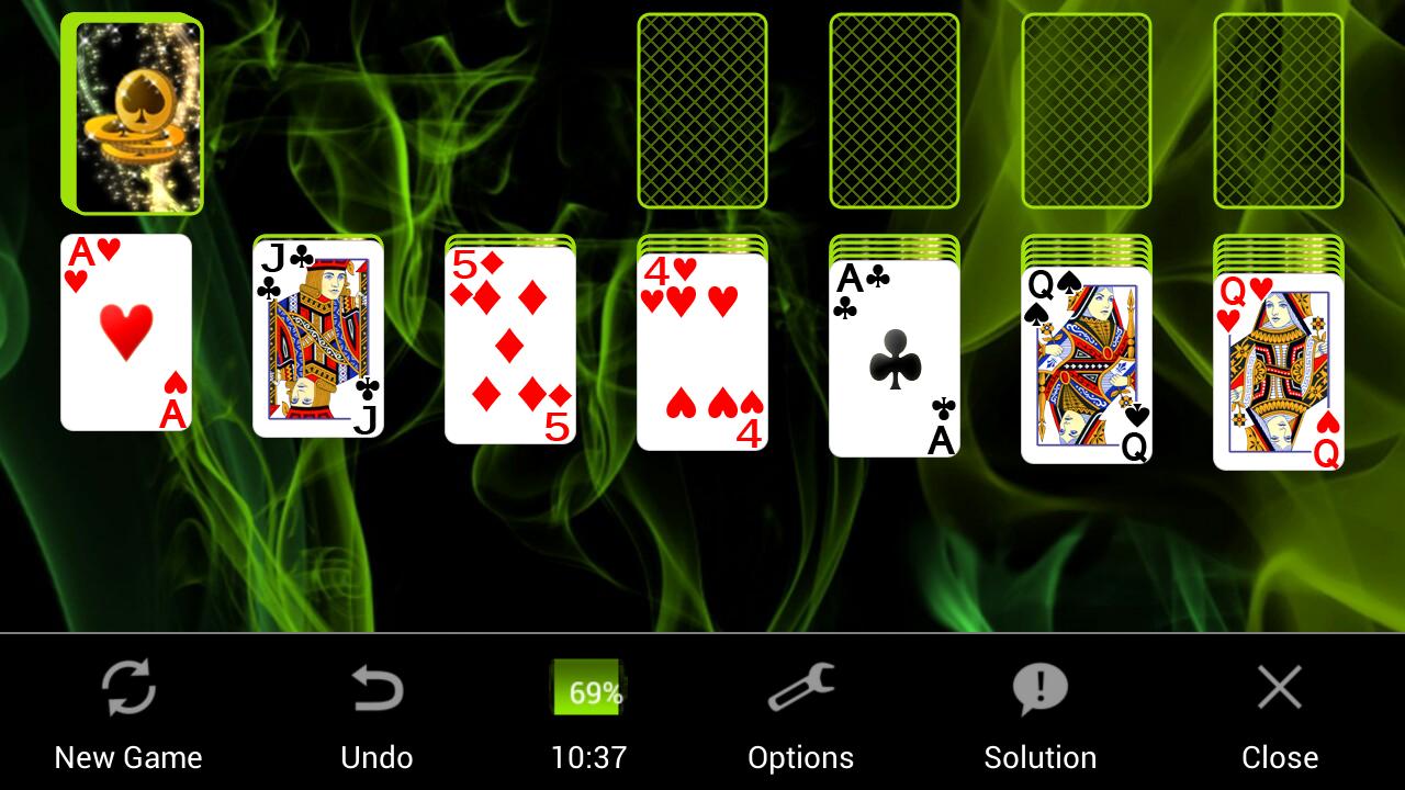 Solitaire 4.8.1391c Screen 3