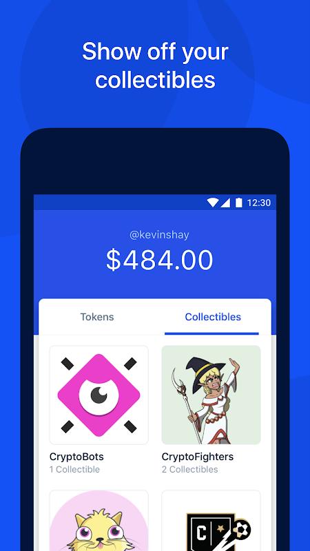 Coinbase Wallet — Crypto Wallet & DApp Browser 17.1.216 Screen 1