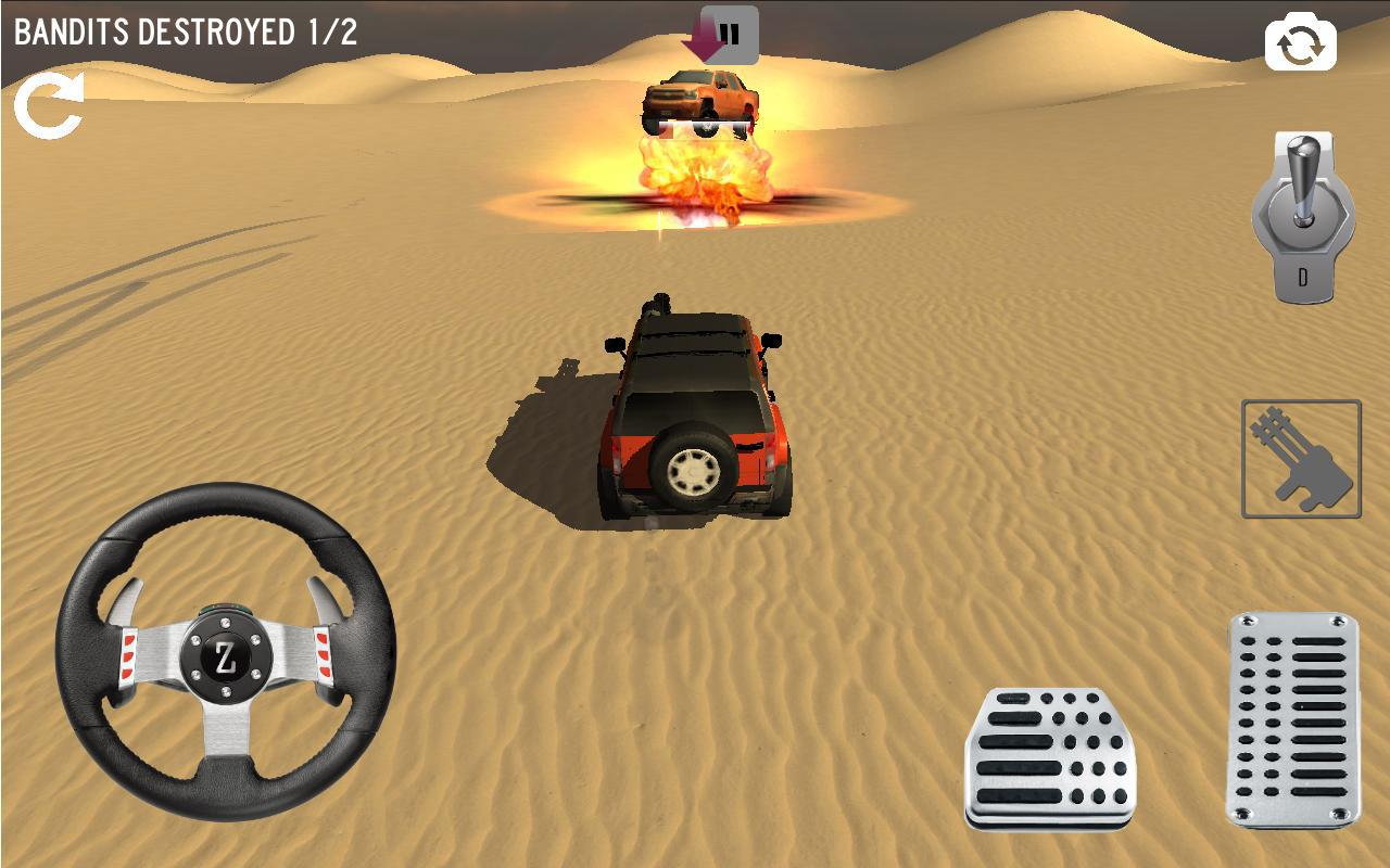 Android 4x4 Desert Safari Attack Screen 6