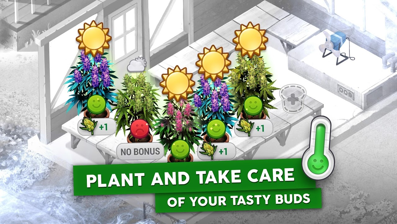 Android Hempire - Weed Growing Game Screen 2