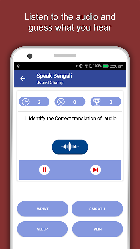 Speak Bengali : Learn Bengali Language Offline 1.0.6 Screen 3
