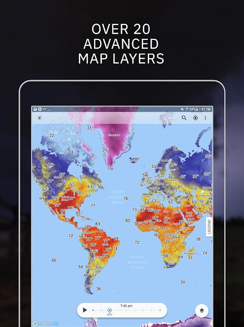 Storm Radar: Weather Map 1.6.2 Screen 10