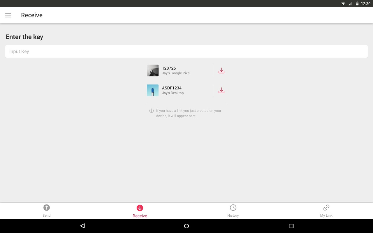 Send Anywhere (File Transfer) 9.1.11 Screen 7