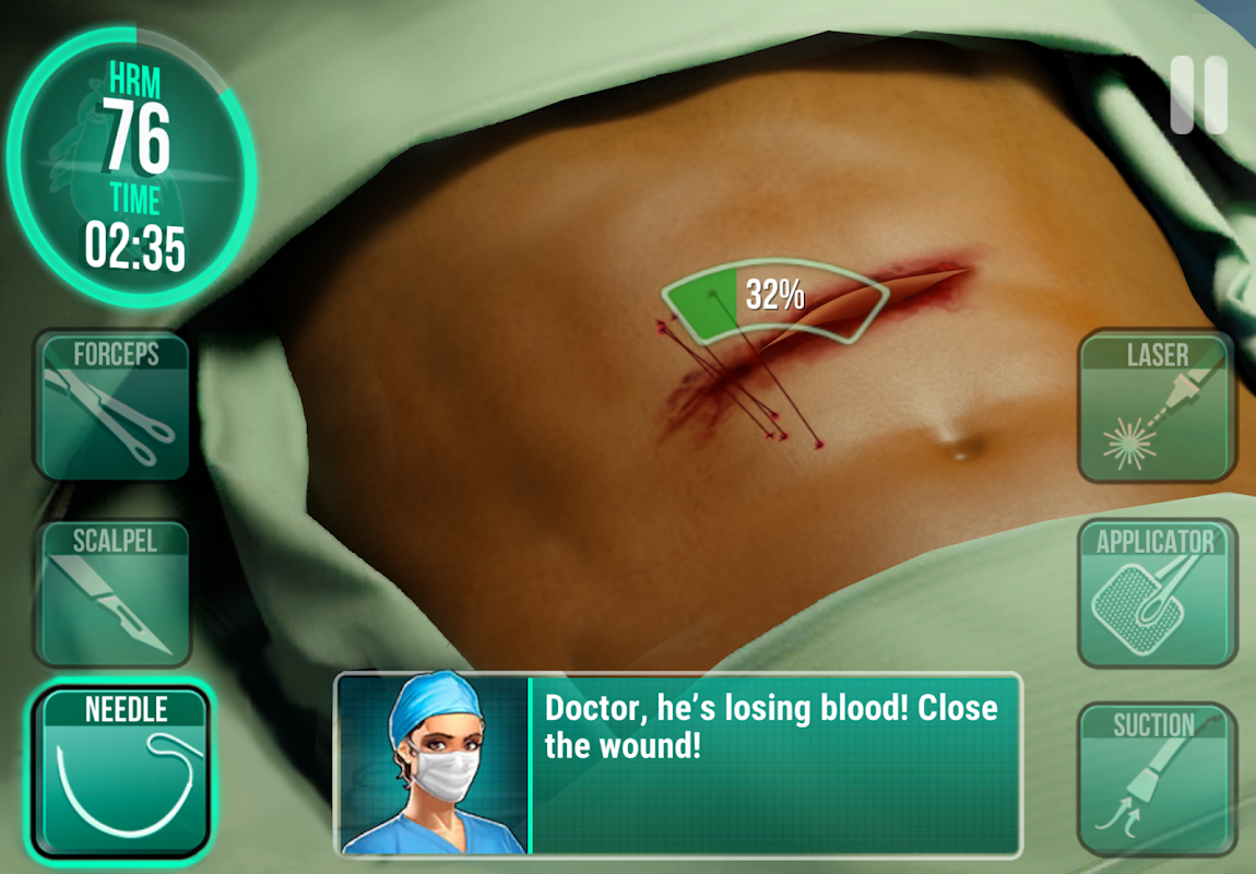 Operate Now: Hospital 1.28.2 Screen 6