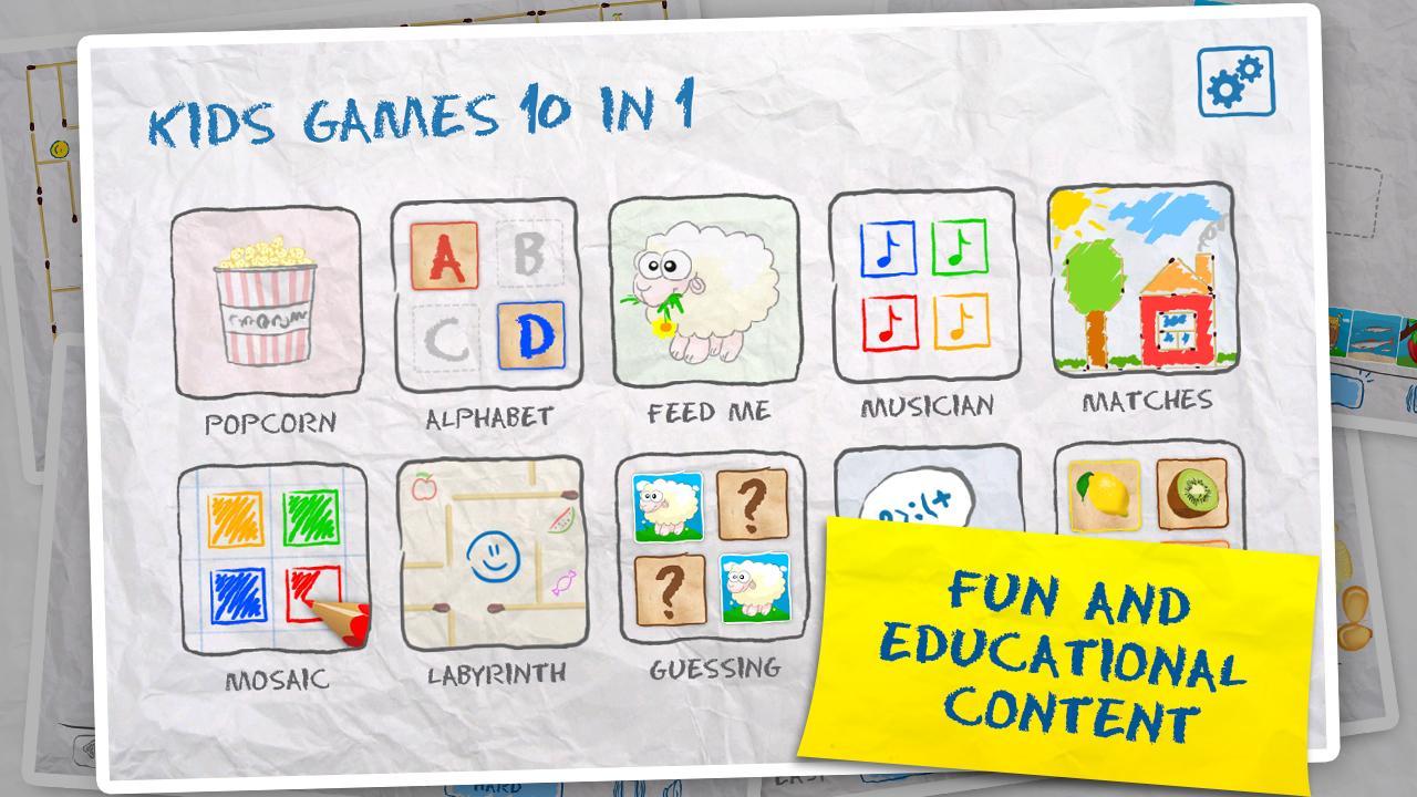 Free Kids Games (10 in 1) 2.7 Screen 7