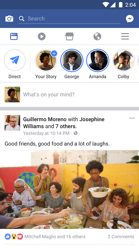 Facebook 121.0.0.0.50 Screen 4
