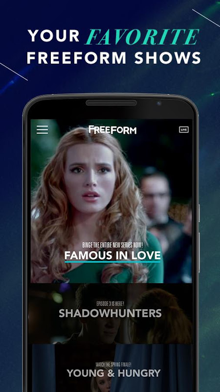 Android Freeform – TV & Full Episodes Screen 6