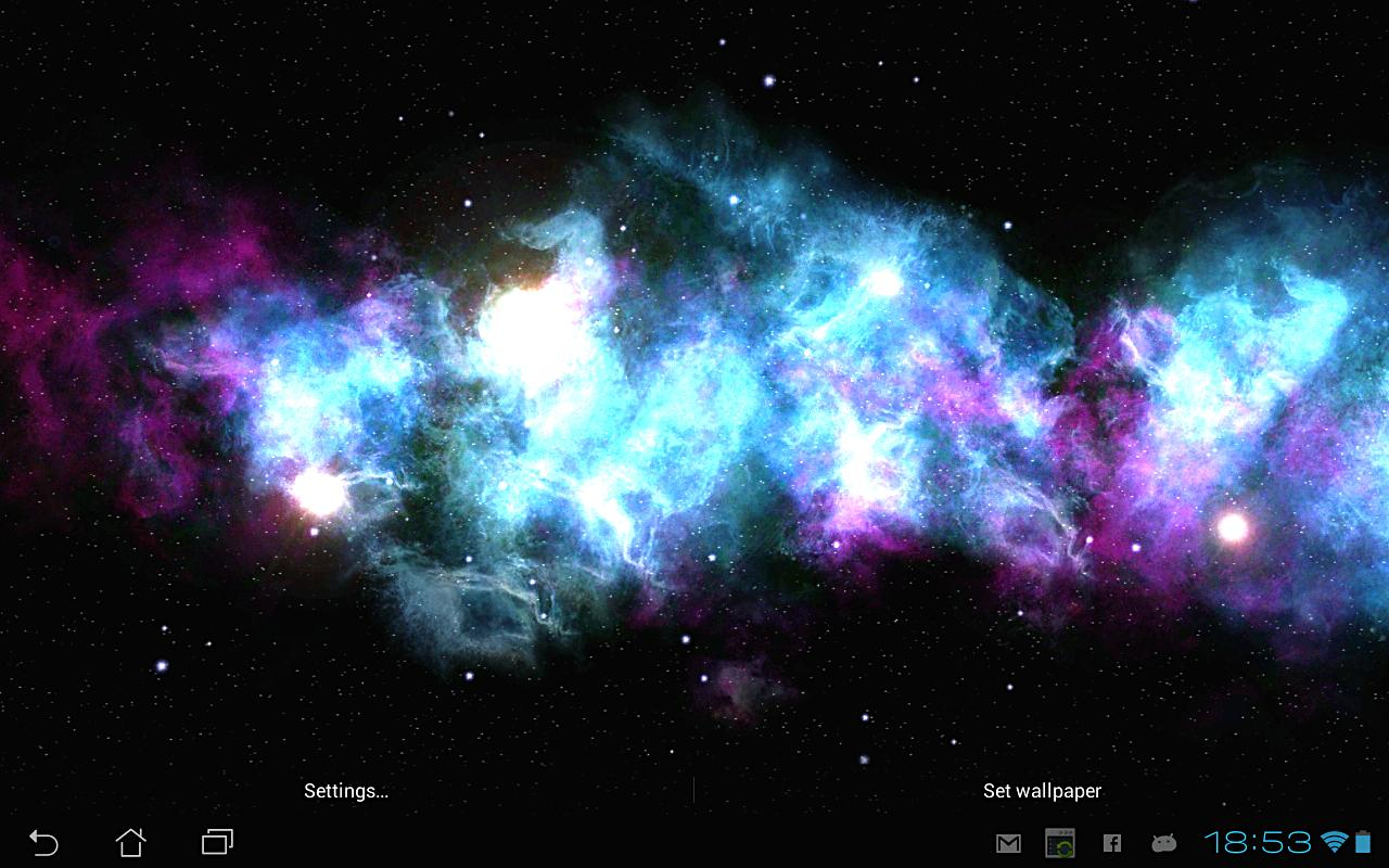 Android Deep Galaxies HD Deluxe Screen 6