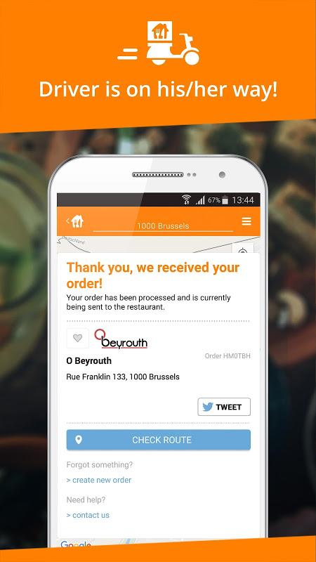 Takeaway.com - Belgium 4.22.2 Screen 1