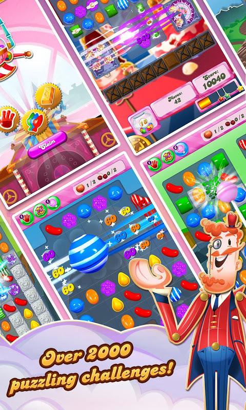 Android Candy Crush Saga Screen 7