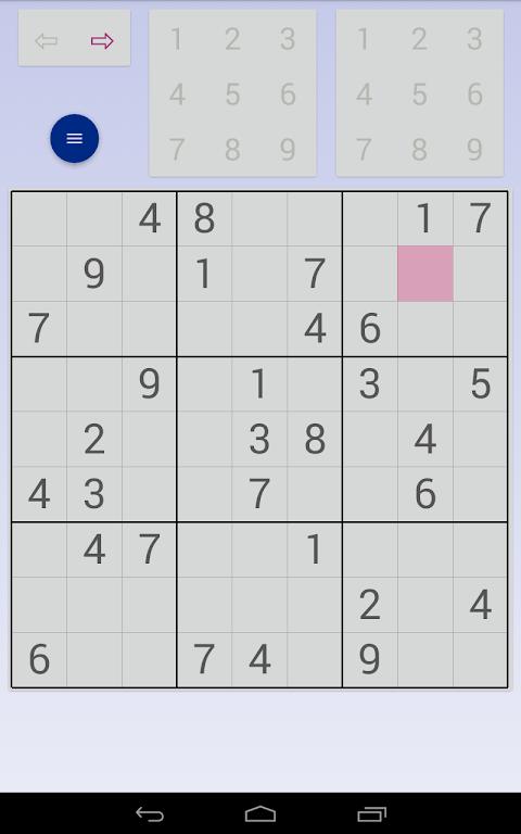 Sudoku: 3 in 1 1.7.3 Screen 14