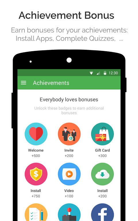 Android appKarma Rewards & Gift Cards Screen 4