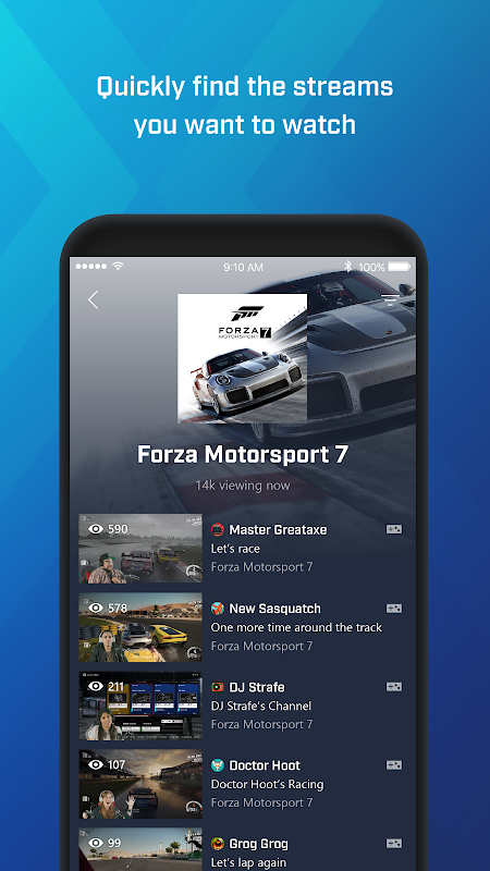 Mixer – Interactive Streaming 3.4.1 Screen 4