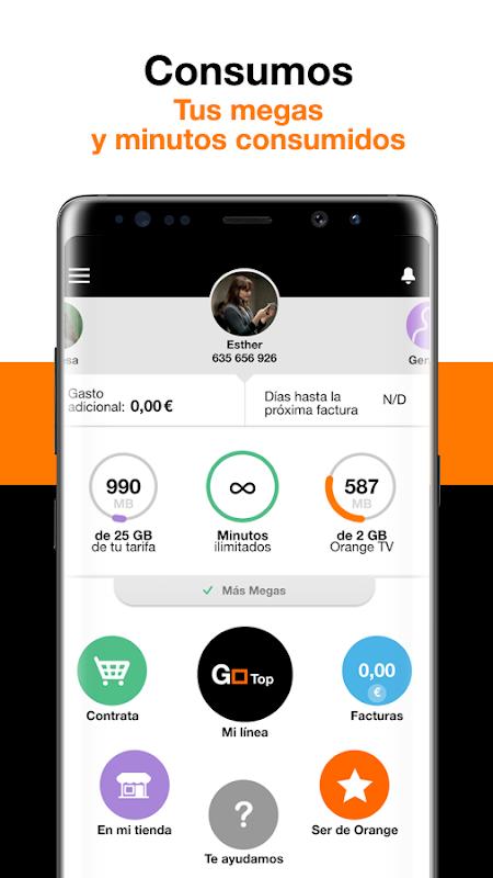 Mi Orange 6.5.1 Screen 1
