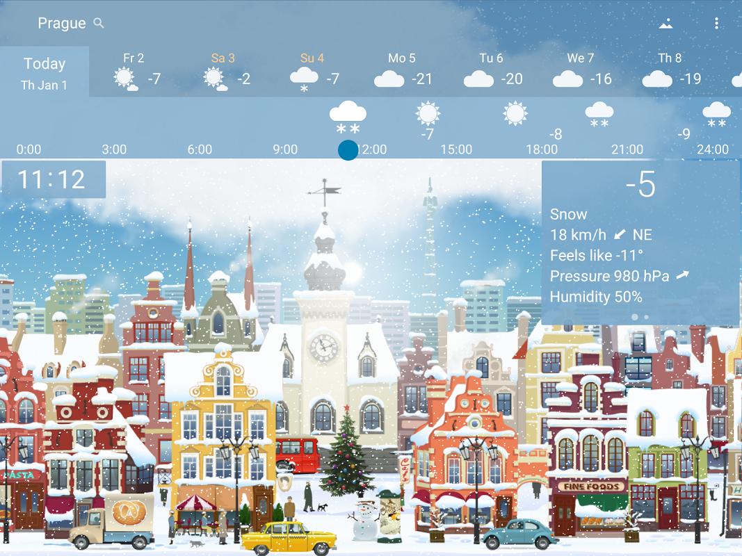 Precise Weather YoWindow 1.33.17 Screen 7