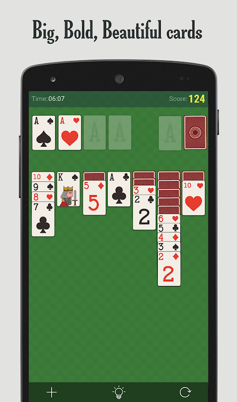 SOLITAIRE Patience - Card Game 7.0.6-minApi18c Screen 1