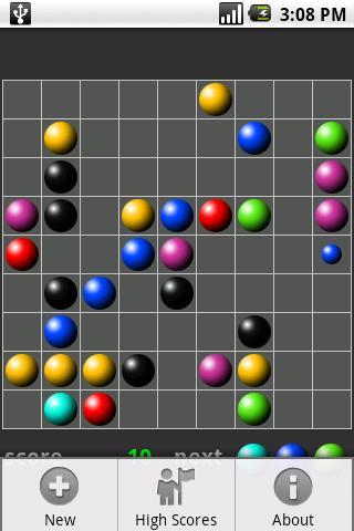 ColorLines 1.6 Screen 1