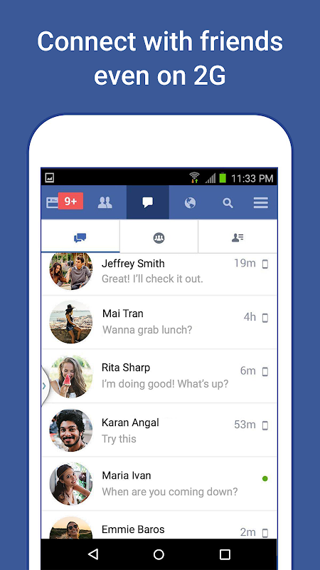 Facebook Lite 156.0.0.4.116 Screen 2