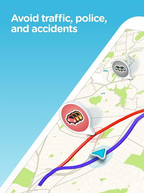 Waze - GPS, Maps, Traffic Alerts & Sat Nav 4.45.0.0 Screen 5
