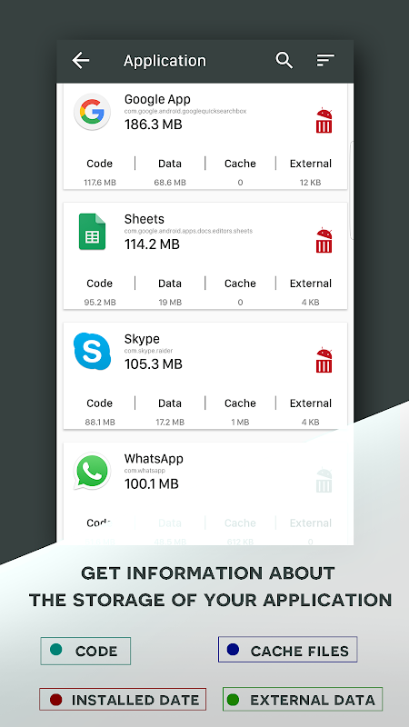 Android Mobile Storage Analyzer: Save Space Memory Cleaner Screen 1
