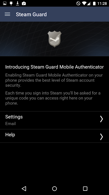 Steam 2.3.7 Screen 3