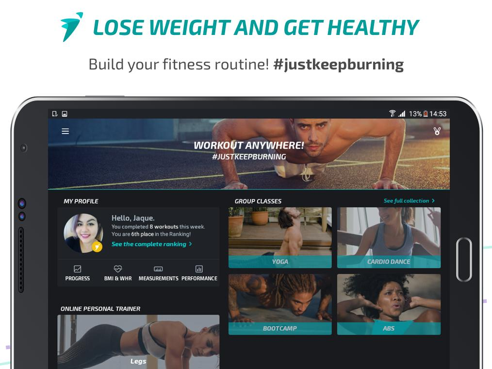 Android BTFIT - Personal Trainer Online, Fitness and Yoga Screen 5