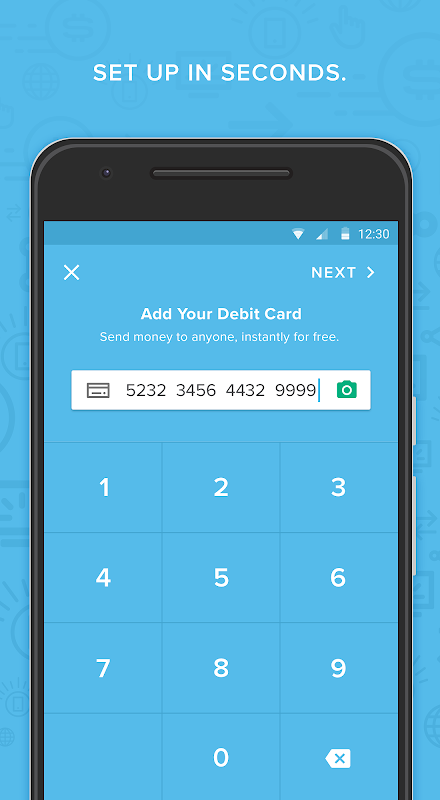 Android Circle Pay — Send money free Screen 2