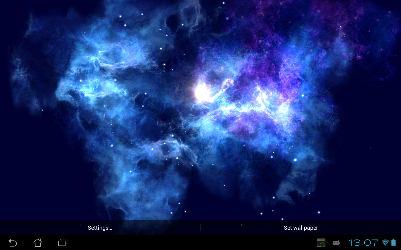 Android Deep Galaxies HD Deluxe Screen 8
