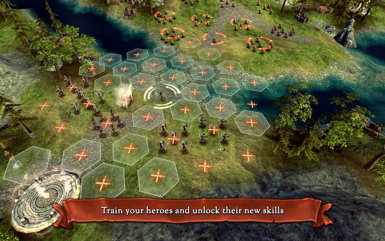 Android Hex Commander: Fantasy Heroes Screen 12
