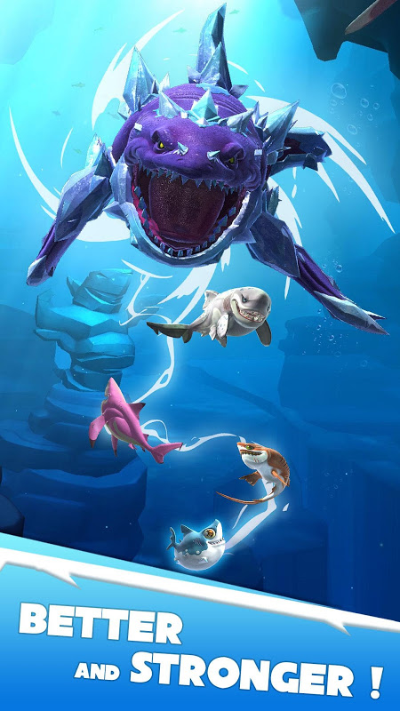 Android Hungry Shark Heroes Screen 2