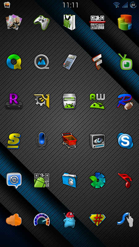 Cobalt Icon Pack 9.9 Screen 4