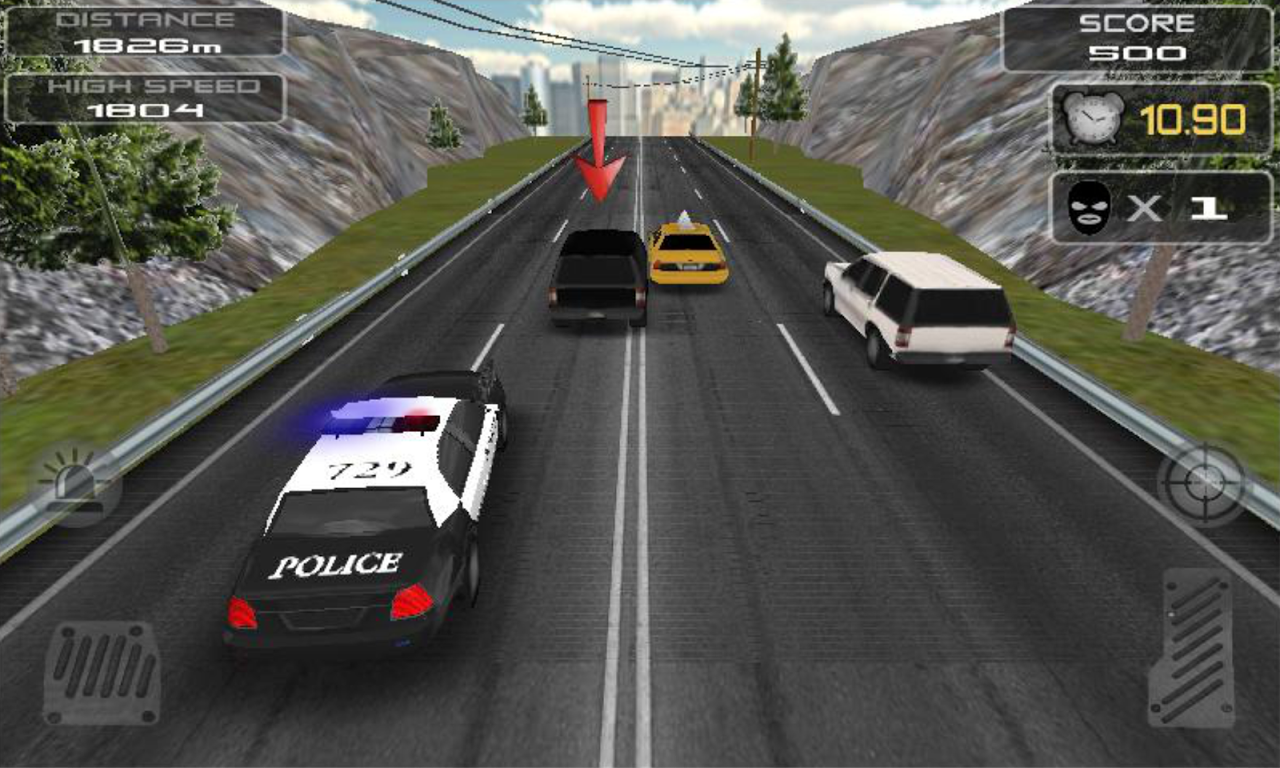 POLICE Clash 3D 1.7 Screen 3